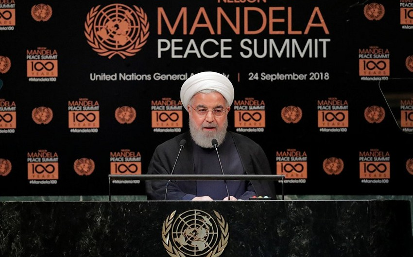Ruhani: İran Fars körfəzi və Hörmüz boğazında istənilən təxribata cavab verəcək