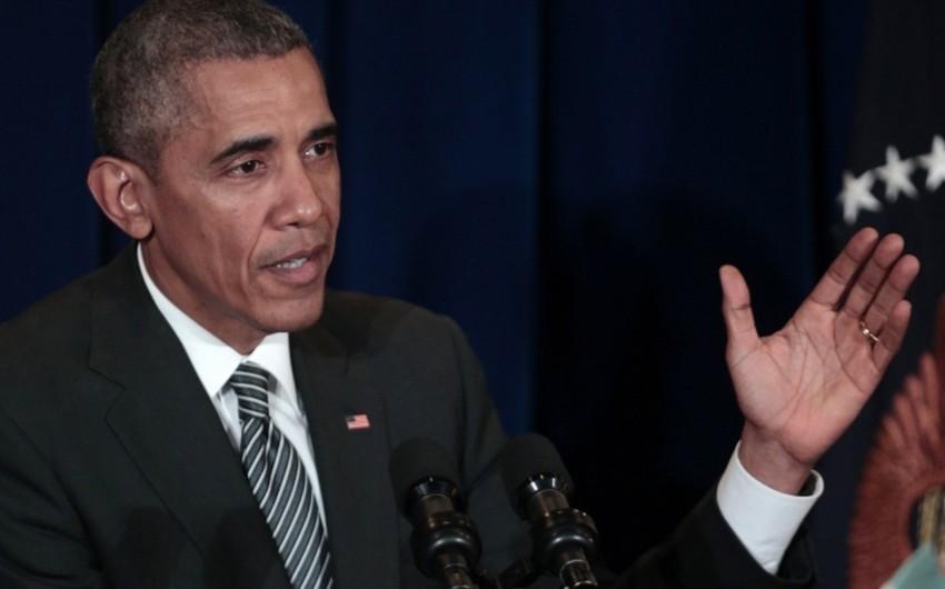 Обама подписал оборонный бюджет, позволяющий поставки оружия Украине