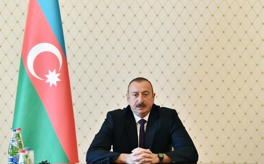 Prezident İlham Əliyev: Şər qüvvələr bizim siyasətimizə, iradəmizə təsir edə bilmir
