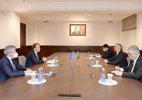 Еврокомиссар встретился с Самиром Нуриевым и Хикметом Гаджиевым