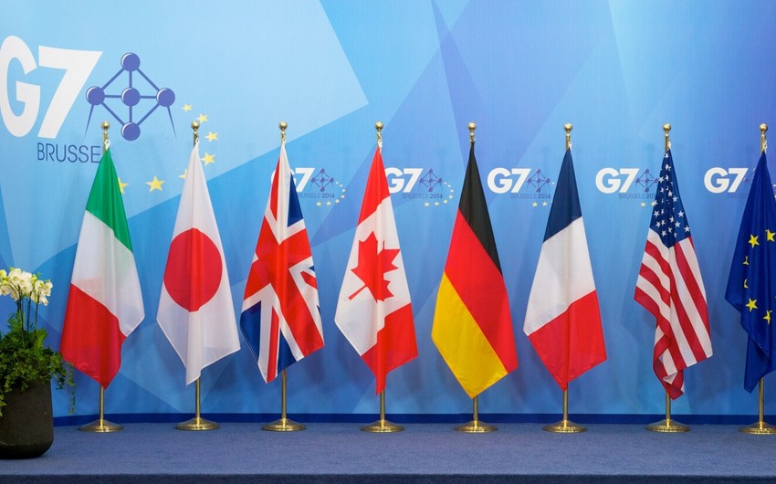 G7 ölkələrinin XİN başçıları aprelin sonlarında Torontoda görüşəcək