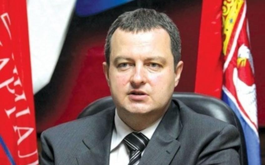 Daçiç: Serbiya ATƏT məkanında münaqişələrin həlli üzrə bütün mümkün tədbirləri görəcək