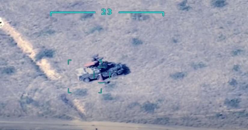 MN: Düşmənin daha bir neçə hərbi texnikası məhv edilib