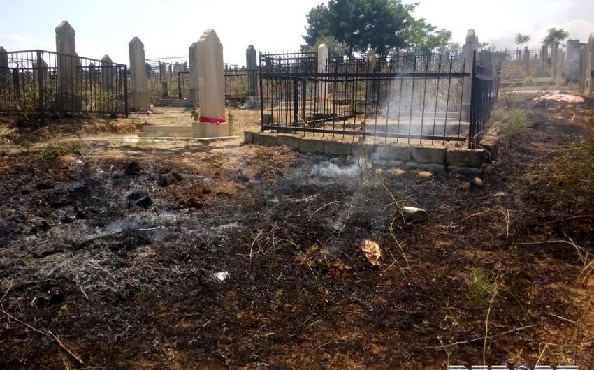 Пожар в Шабране ликвидирован, сгорела территория площадью 80 га - ОБНОВЛЕНО