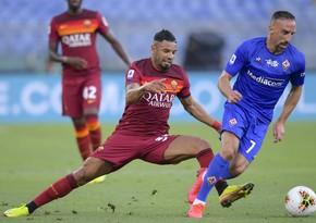 Roma Fiorentinaya minimal hesabla qalib gəlib