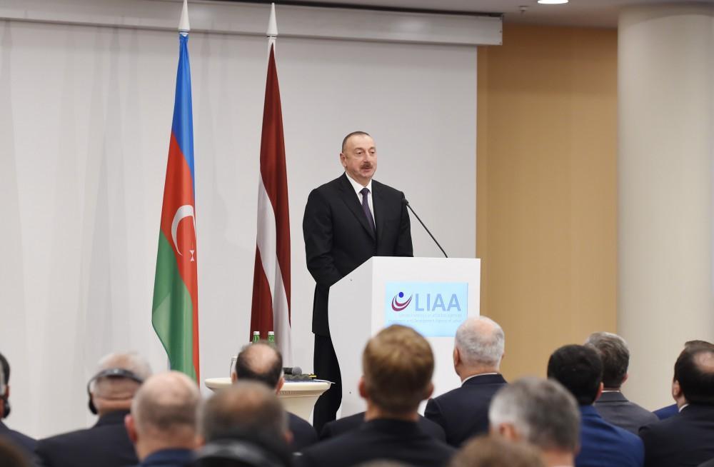 В Риге состоялся азербайджано-латвийский бизнес-форум