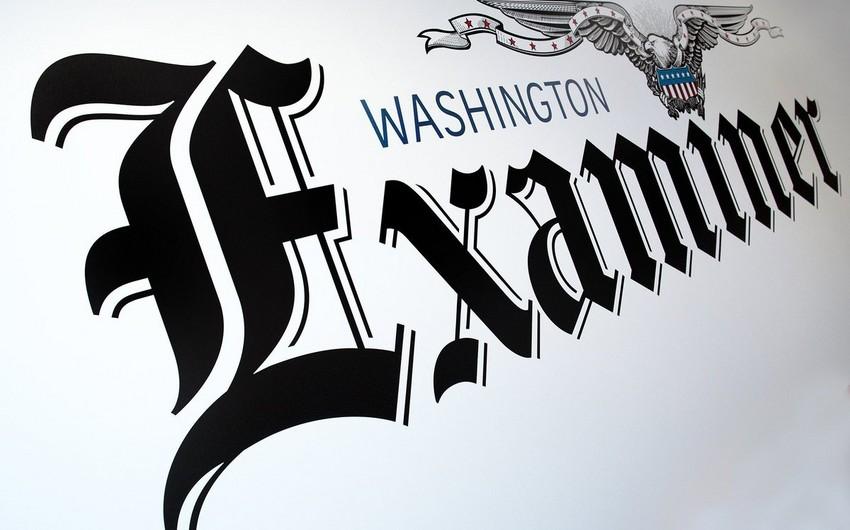 """""""Washington Examiner"""": """"Əsrin müqaviləsi"""" böyük əhəmiyyətə malikdir"""