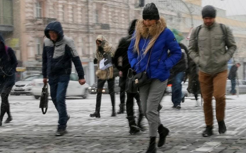 Ukrayna əhalisi ötən il 233 min nəfər azalıb