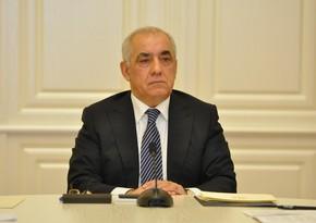 Премьер-министр Али Асадов направил письмо вице-президенту Турции