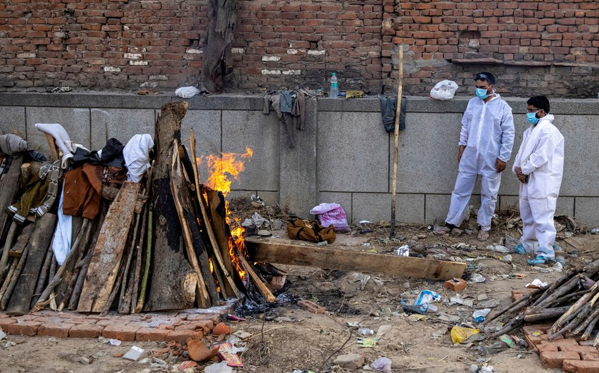 Hindistanda koronavirusdan ölənlərin sayı 447 mini ötüb