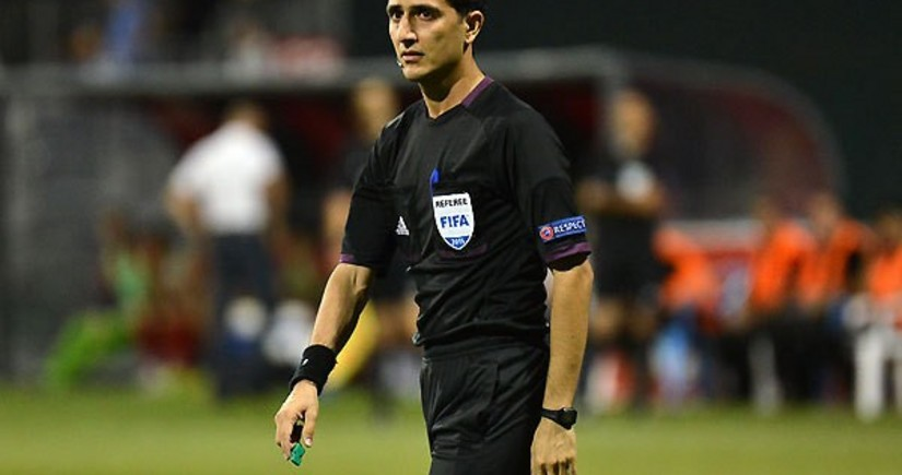 Azərbaycanın FIFA referisi Konfrans Liqasının oyununa təyinat alıb