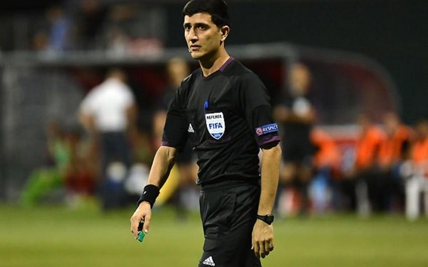 Əliyar Ağayev Avropa Liqasının oyununa təyinat alıb