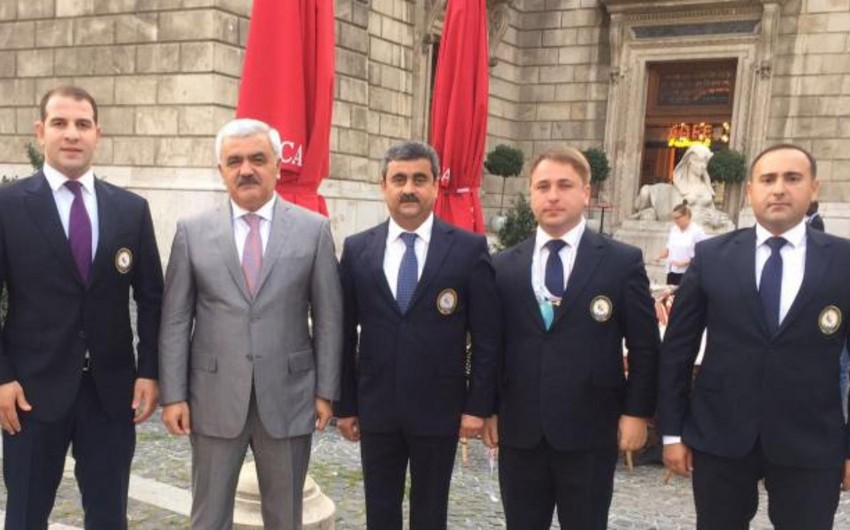 Azərbaycan nümayəndə heyəti dünya çempionatının püşkatma mərasimində iştirak edib