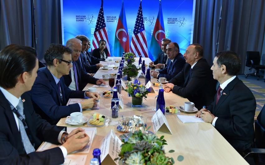 Joe Biden:  USA resolutely supports Azerbaijan's territorial integrity and sovereignty