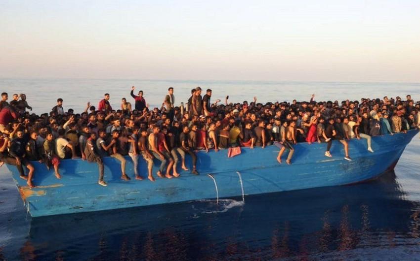 İtaliya sahillərində 539 miqrant xilas edilib