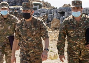 Ermənistan Silahlı Qüvvələrinin komandanlığı Onik Qasparyana dəstək bəyanatı yayıb