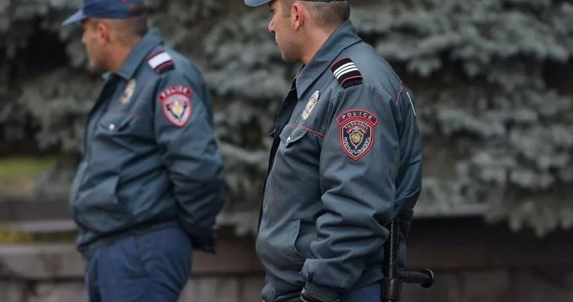 Yerevanda polis 50-dən çox kriminal avtoriteti yaxaladı