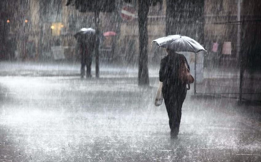 Sabah Bakıda yağış yağacaq, bəzi rayonlara dolu düşəcək