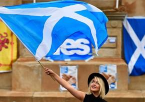 Şotlandiyada Britaniyadan ayrılmaq istəyənlər seçkilərdə qalib gəlib