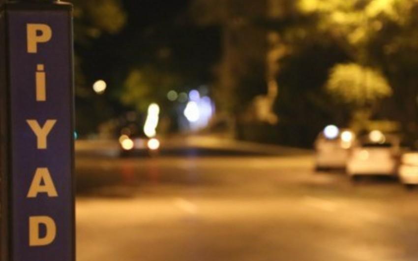 В Баку сбитый автомобилем пешеход получил ранения