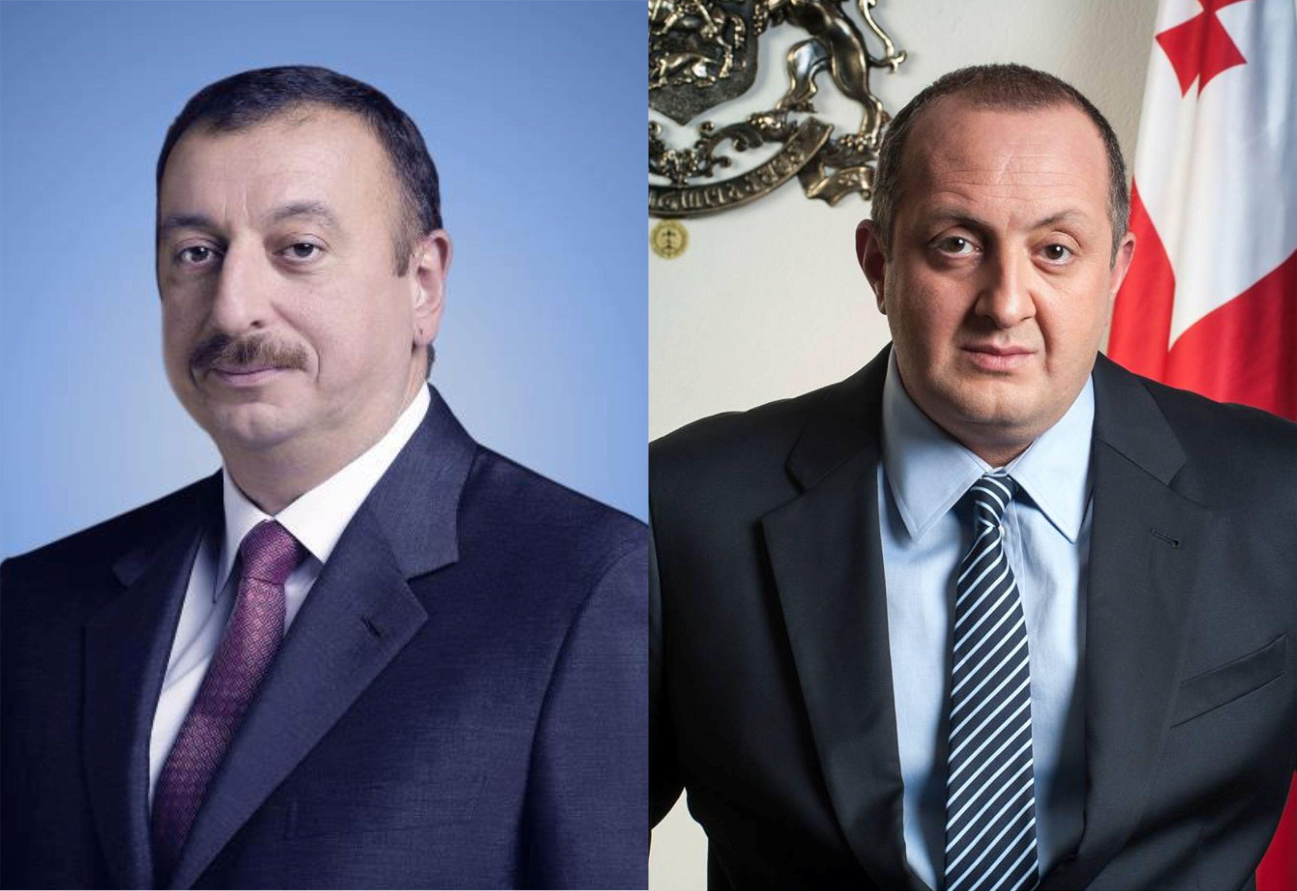 Президенты Азербайджана и Грузии ознакомились с холодильным складским комплексом