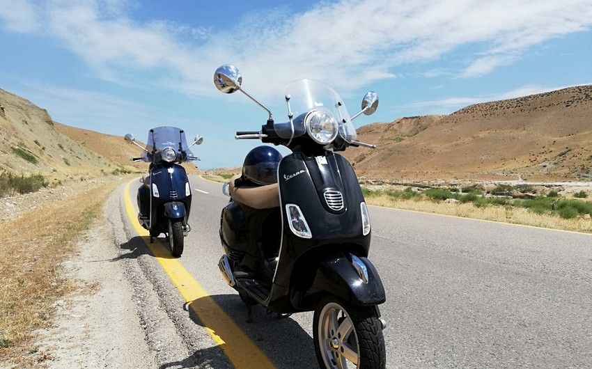 Bakı yollarının yeni kabusu - moped sürücüləri