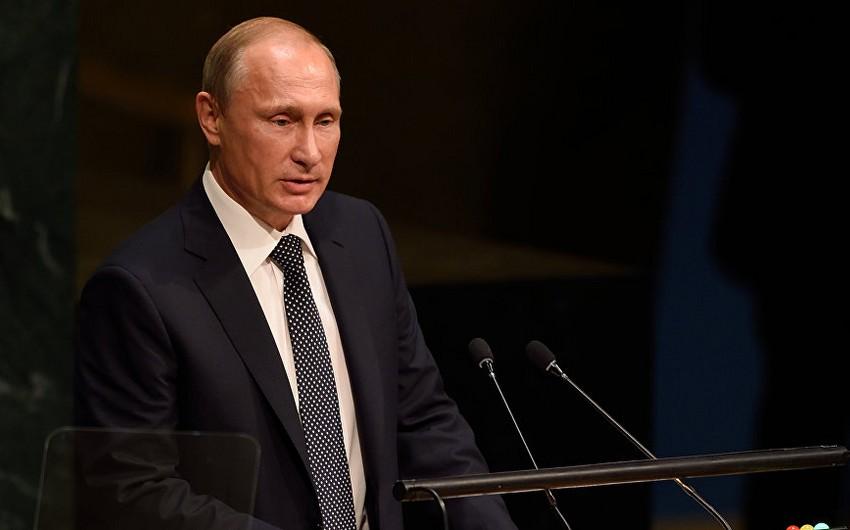 """Vladimir Putin: """"Suriyada hərbi əməliyyatlar başa çatmaq üzrədir"""""""