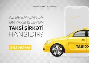 Azərbaycanda ən yaxşı işləyən taksi şirkəti hansıdır?