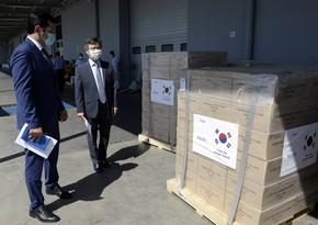 Koreyadan Azərbaycana 350 min qoruyucu maska gətirildi