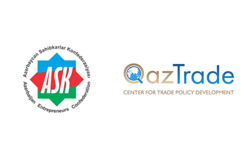 """ASK ilə """"QazTrade"""" arasında əməkdaşlıq memorandumu imzalanıb"""