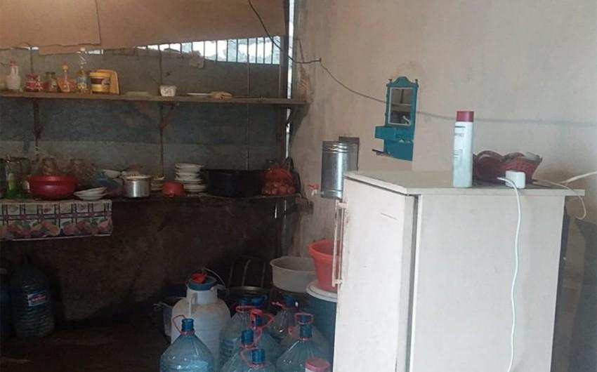 Sabirabadda qanunsuz işləyən kafe bağlanıb