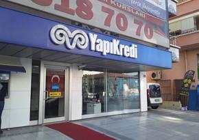 """Türkiyənin """"Yapı Kredi Bankı""""nın xalis mənfəəti 40 % artıb"""