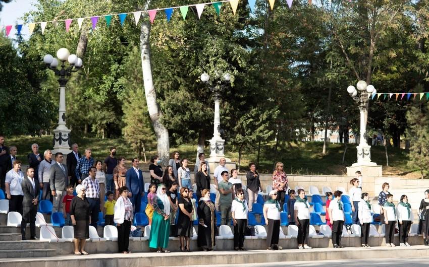 """""""Sosial layihələr"""" müsabiqəsi çərçivəsində Şamaxıda ikinci yaşlılar festivalı keçirilib"""