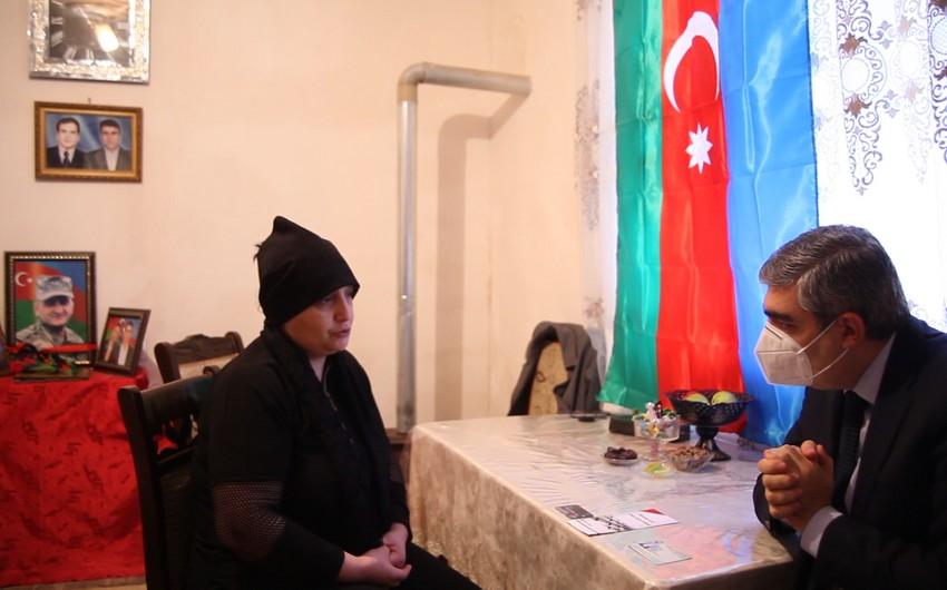 Şəhid İlqar Ramazanlının ailəsinə Prezident təqaüdü təyin olunub