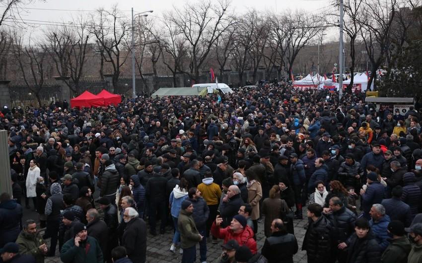 Xocalı qatili Koçaryan Ermənistanı yenidən qanlı olaylara sürükləyir -