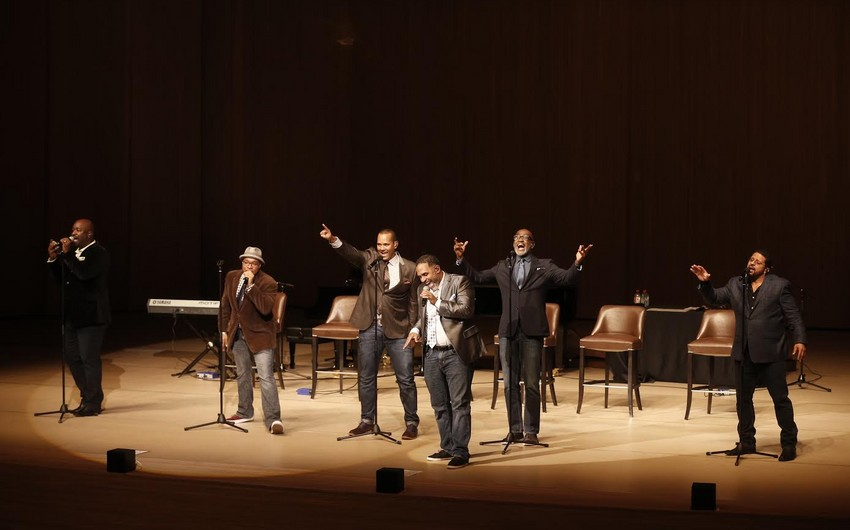 В Центре Гейдара Алиева выступил вокальный секстет Take 6