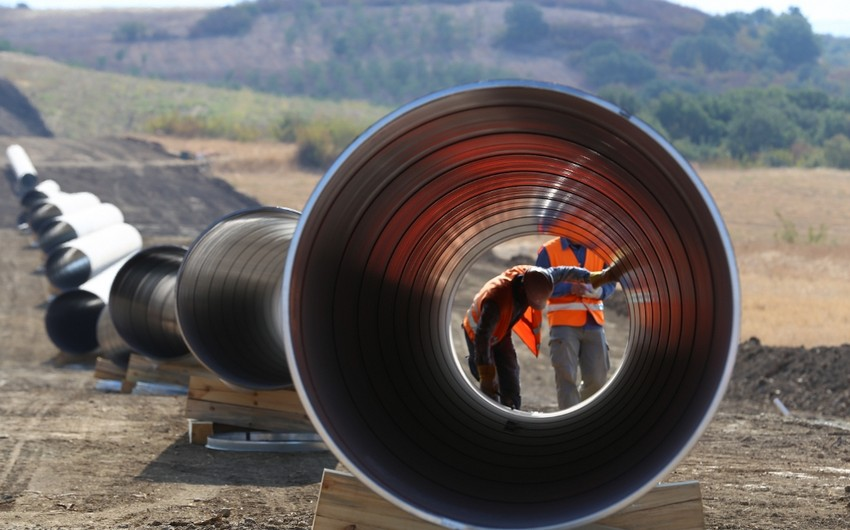 TAP lowers 62% pipes in Greece and Albania
