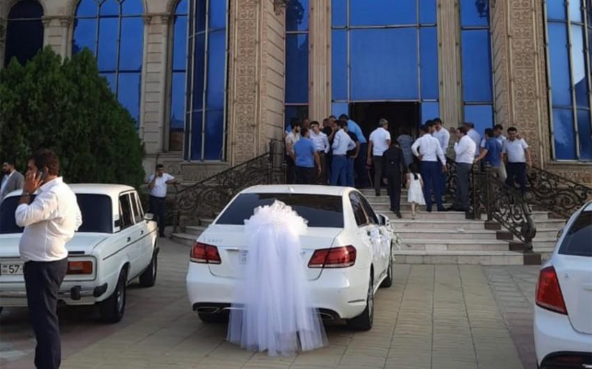 В Шамкире оштрафован организатор свадьбы на 350 человек