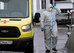 Rusiyada daha 28 782 nəfər koronavirusa yoluxub