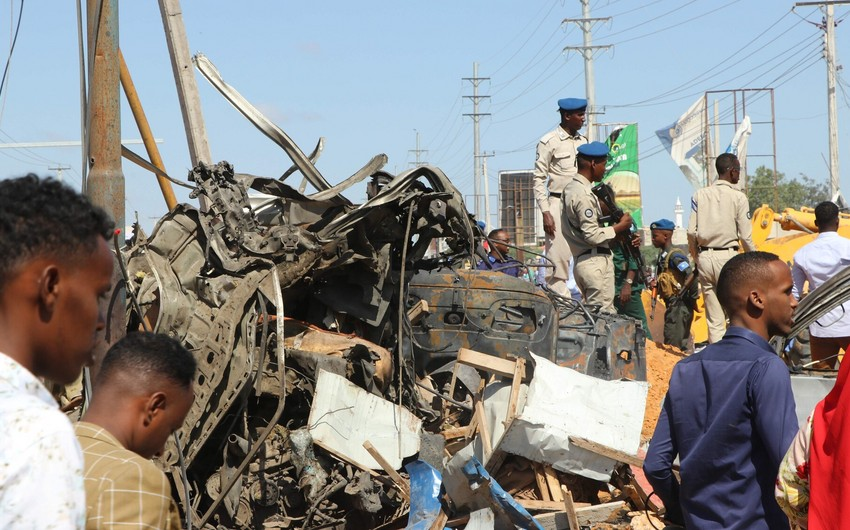 Somalidə terrorçular hava limanını dağıdıblar