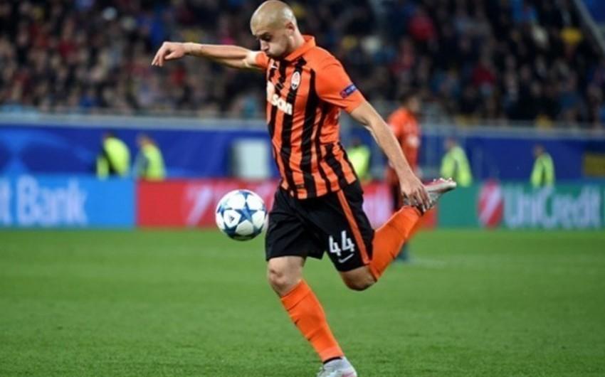 Ukraynalı futbolçu Rusiya klubuna keçmək üçün Şaxtyoru tərk edib