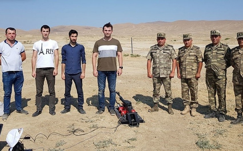 Azerbaijani scientists create new stand for large-scale machine guns