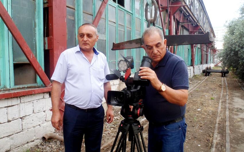 Azərbaycanda dəmir yolunun yaranmasının 135 illiyi ilə əlaqədar sənədli film çəkilib