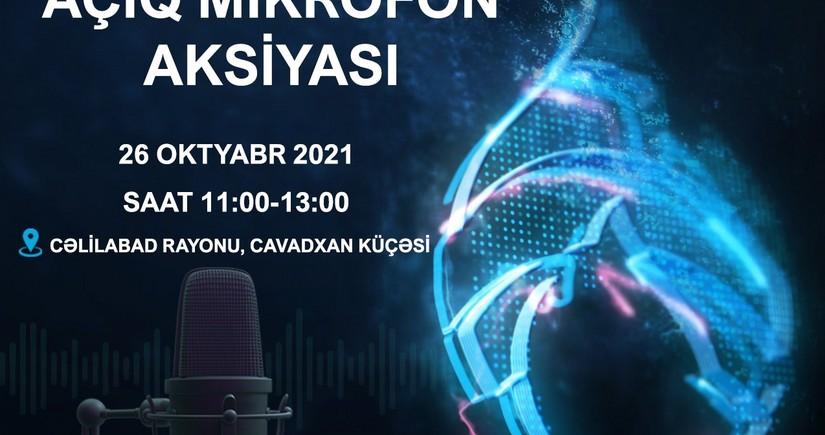 """""""Azəriqaz""""ın növbəti """"Açıq mikrofon"""" aksiyası Cəlilabadda keçiriləcək"""