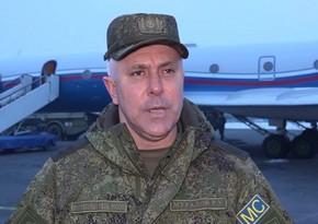 Rusiya sülhməramlılarınınkomandanı Ermənistanın müdafiə naziri ilə görüşüb