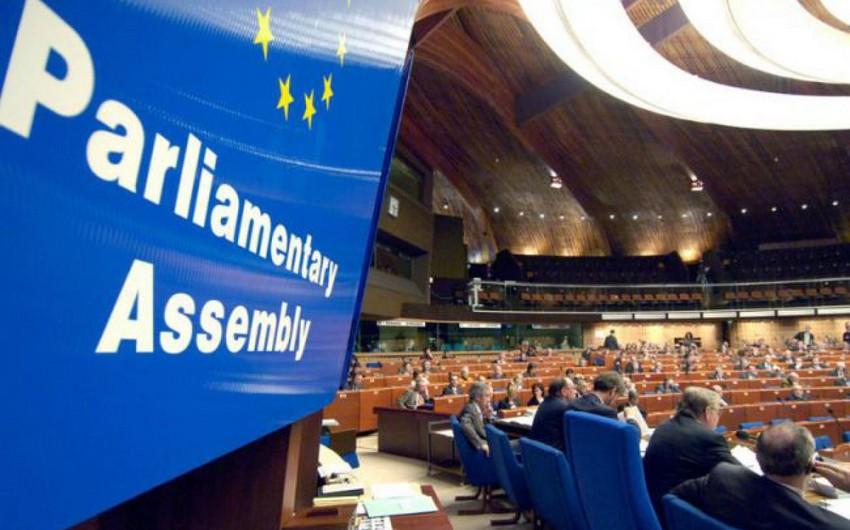 Bu gün Strasburqda AŞPA-nın sessiyası başlayır