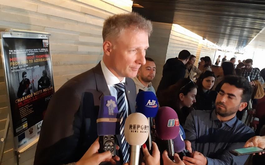 Посол ЕС: Мы хотим превратить Бакинский фестиваль толерантности IMAGINE в традицию