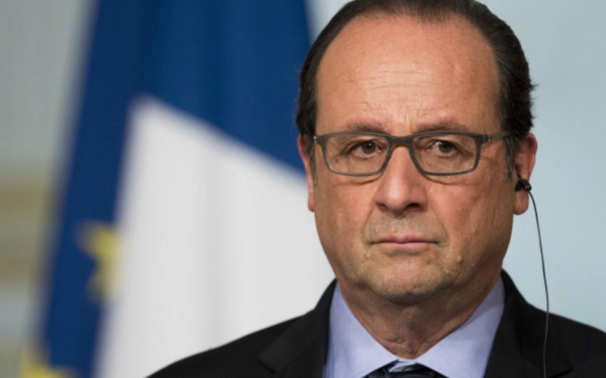 Fransua Olland: Parisdəki terror aktları Belçikada hazırlanıb