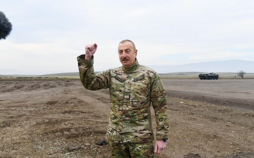 """Azərbaycan Prezidenti: """"Ermənistan müsəlman ölkələrinə dost ola bilməz"""""""