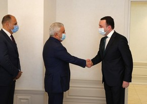 SOCAR President meets Georgian Prime Minister